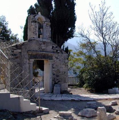 Agia Irini - Saint Irene church Ikaria