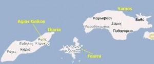 Ferry from Ikaria to Fourni