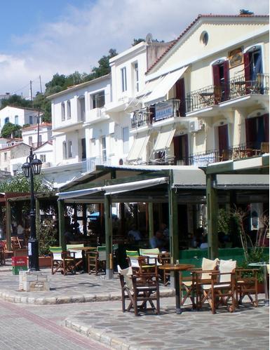 Agios Kyrikos Town Square